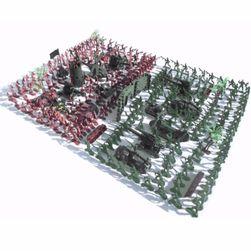 Műanyag játékkatonák - 270 db
