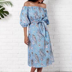 Dámské letní šaty bez ramínek - 4 velikosti