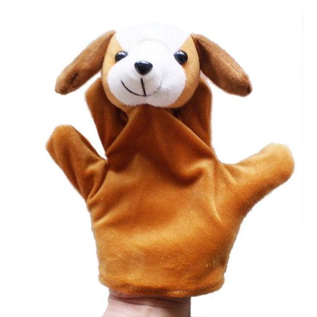 Ročna lutka v obliki živali 1