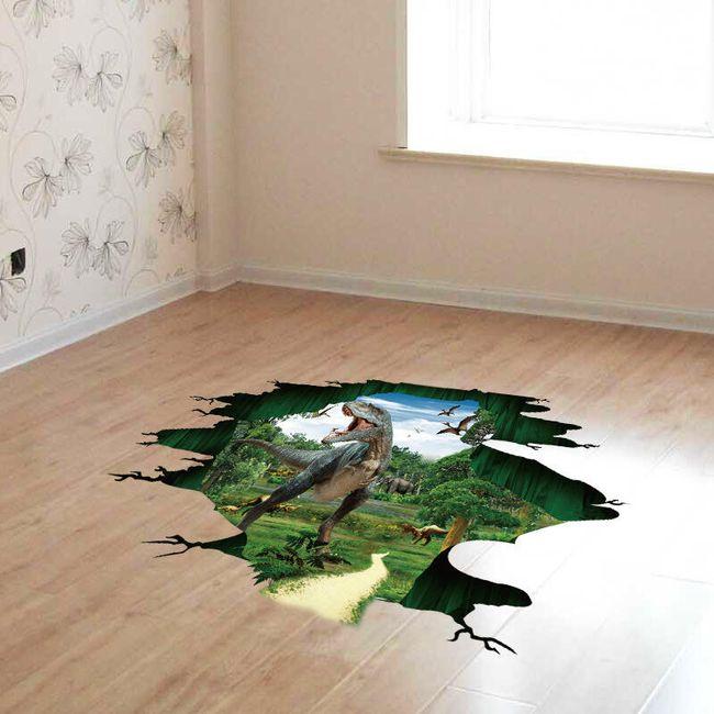 Samolepka na zeď - dinosauři 1