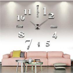 Nástěnné hodiny v módním stylu do obýváku