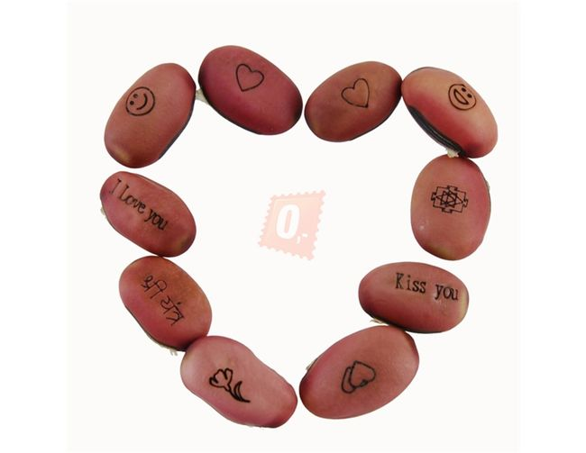 Magické fazole s různými nápisy - 10ks 1