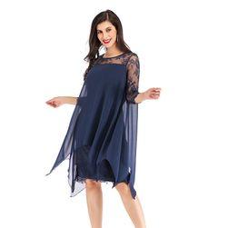 Ženska haljina sa dugačkim rukavima Laverne