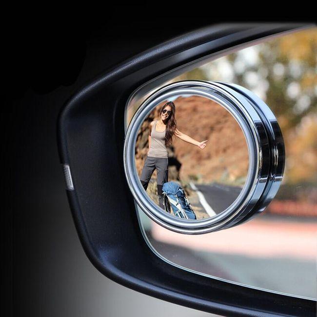 Регулируемое автомобильное мини-зеркало MM01 1