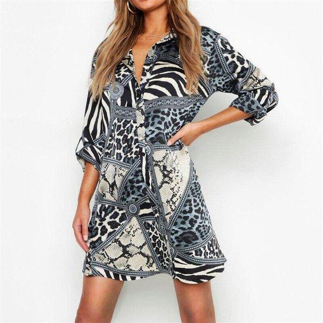 Дамска рокля Leony 1