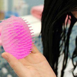 Masująca szczotka do mycia włosów