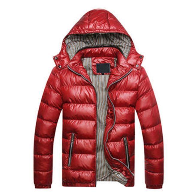 Pánská zimní bunda Arnaldo - Červená-L 1