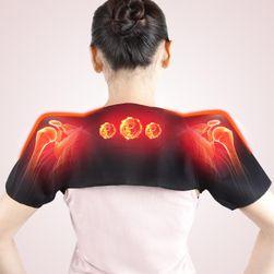 Turmalinowy ogrzewający pas na szyję i ramiona