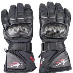 Motocyklistické zimní rukavice - M, XL