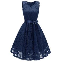 Női estélyi csipke ruha - 5 szín