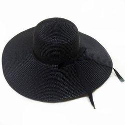 Słomiany kapelusz Justine