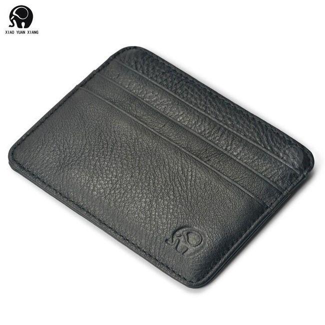 Mesterséges bőr hitelkártya pénztárca - különböző színekben