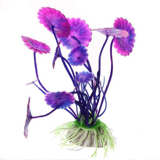 Dekoracja akwariowa - kwiatek 1