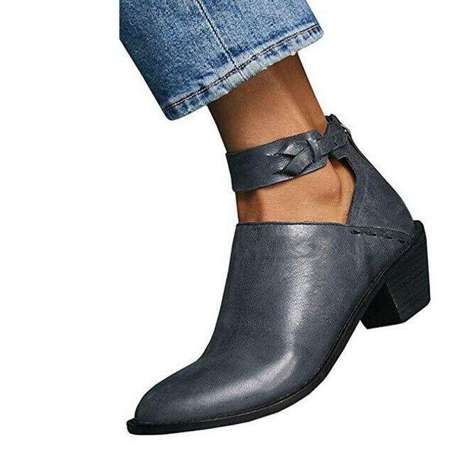 Dámské boty na podpatku Magdalena 1