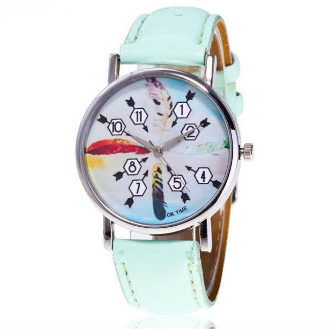Dámské hodinky s pírky - 5 barev 1