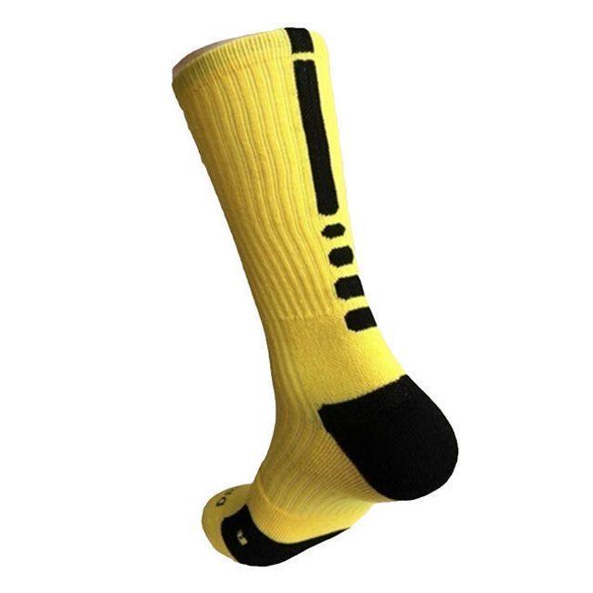Férfi magas zokni - 1 pár