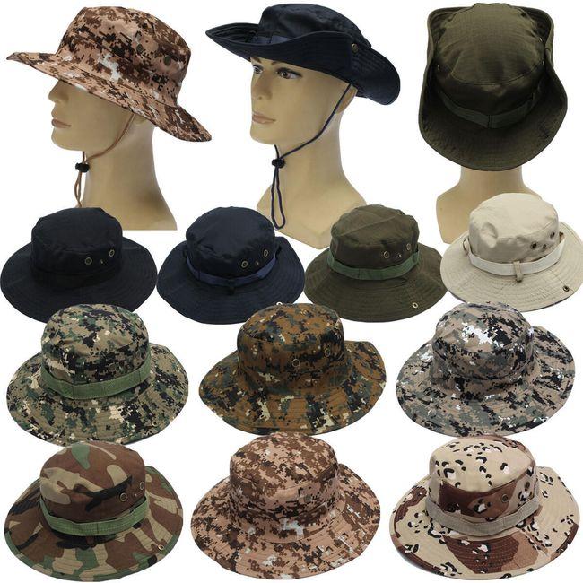 Камуфляжная шляпа- разные расцветки  1