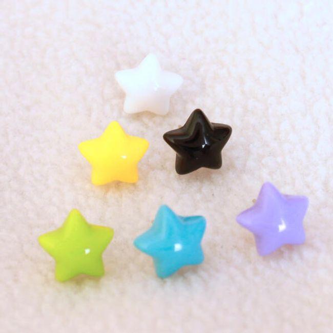 Обеци в дизайн на звезди 1