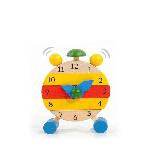 Dziecięcy drewniany zabawkowy zegarek  1