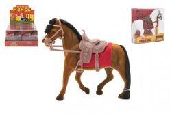 Kôň flíska so sedlom 18cm 3 farby v krabičke 16x16,5x5,5cm RM_00850376