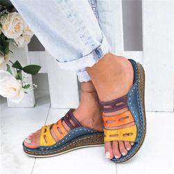 Dámské pantofle Jamesina Modrá 42