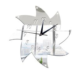 Naścienny zegar naklejany B02960
