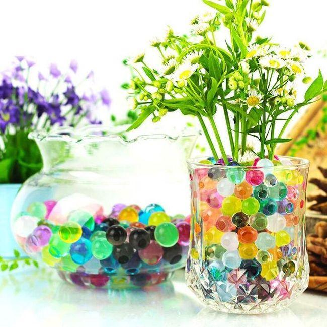 Hidrogel dekorativne kuglice - 2000 komada 1