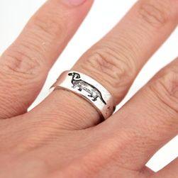 Женское кольцо Zb4