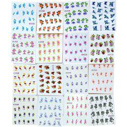 Samolepky na nehty 50 štítků