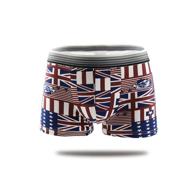 Pánské boxerky s vlajkami 1