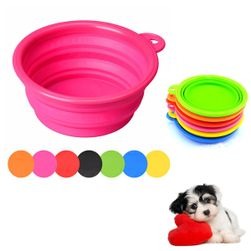 Походная складная миска для собак