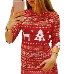 Новогоднее платье Красный- размер 6