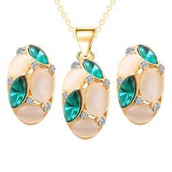 Sada šperkov tvorená kamienkami