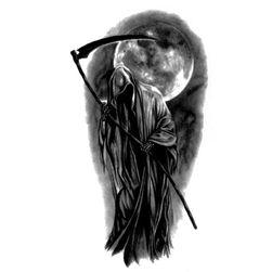 Privremena tetovaža - smrt