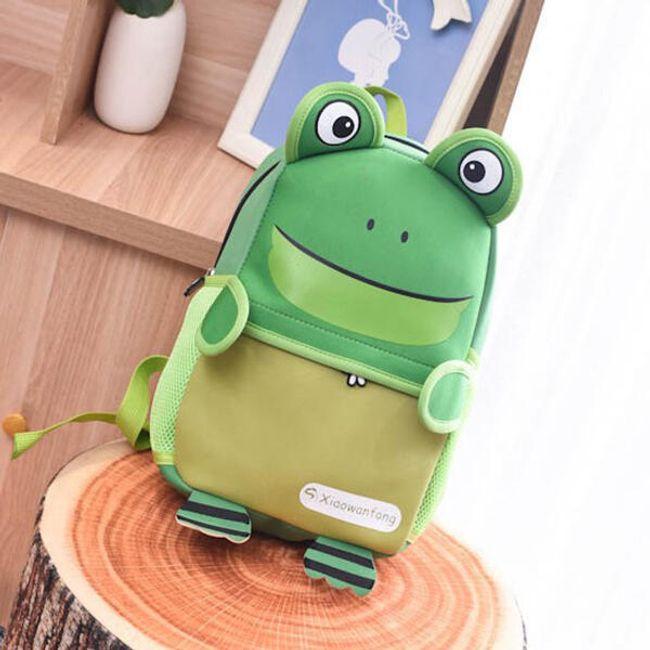 Детский 3D-рюкзак - лягушка 1