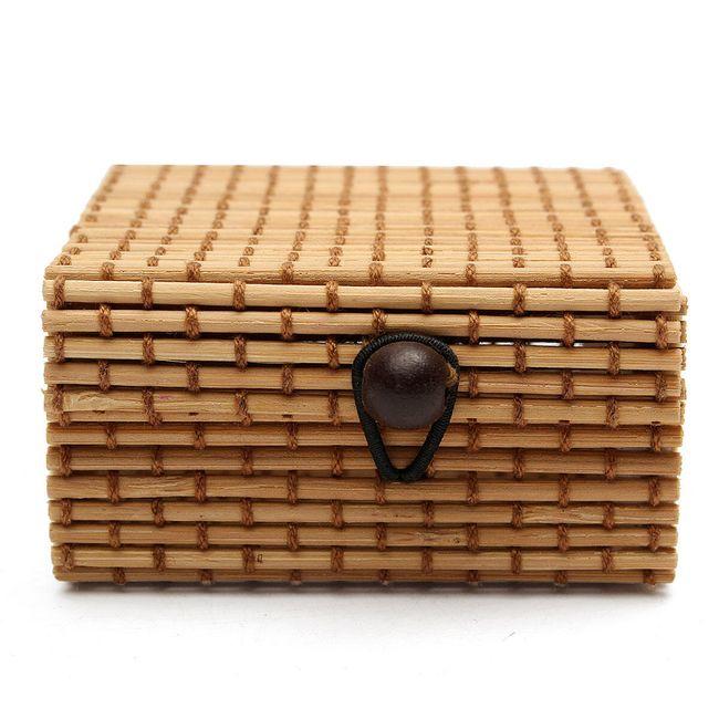 Cutie de bijuterii din lemn de bambus 10