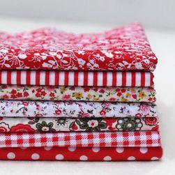Набор тканей для шитья Nira Красный