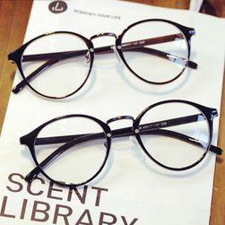 Stylowe retro okulary z okrągłymi oprawkami - różne kolory i wzory