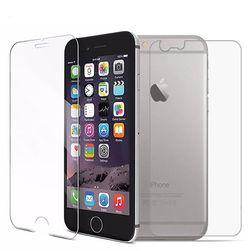 Hátsó és elülső védőüveg iPhone-hoz - különféle típusok