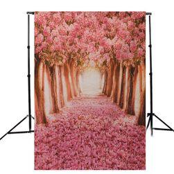 Fotostěna s motivem aleje - 90 x 150 cm