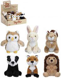 PLYŠ Zvířátka lesní Tiny Pets 12cm různé druhy *PLYŠOVÉ HRAČKY* SR_701149