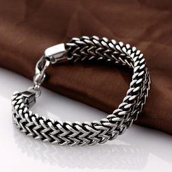 Pánský řetězový náramek - 3 šířky