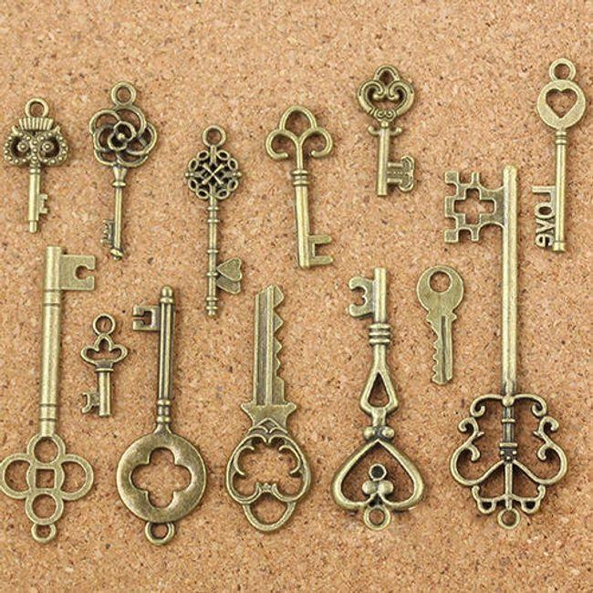 Set retro ključev - 13 kosov 1