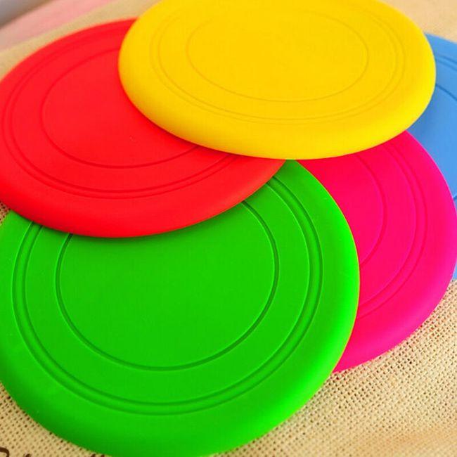 Силиконовая тарелка для фрисби- 4 расцветки 1