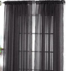 Lekka zasłona okienna - 12 wariantów