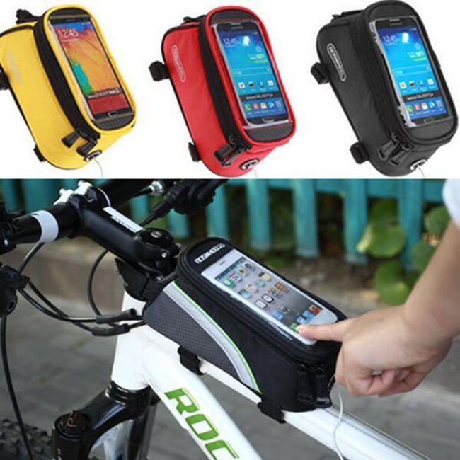 Сумка на раму велосипеда под iPhone- 3 цвета 1