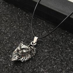 Pánský náhrdelník se lvem nebo samostatný řetízek
