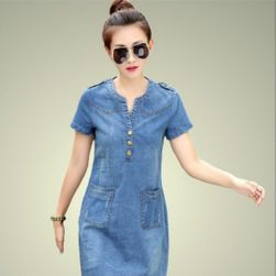 Jeans haljina sa džepovima - 2 varijante