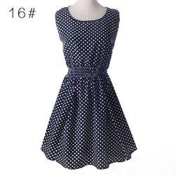 Karışık yaz elbise Laura - 21 model Desen: 21 - Beden: 1
