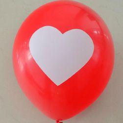 Balónky se srdíčky - 100 kusů